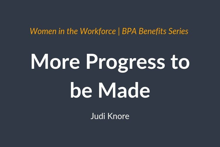 more progress for women needed